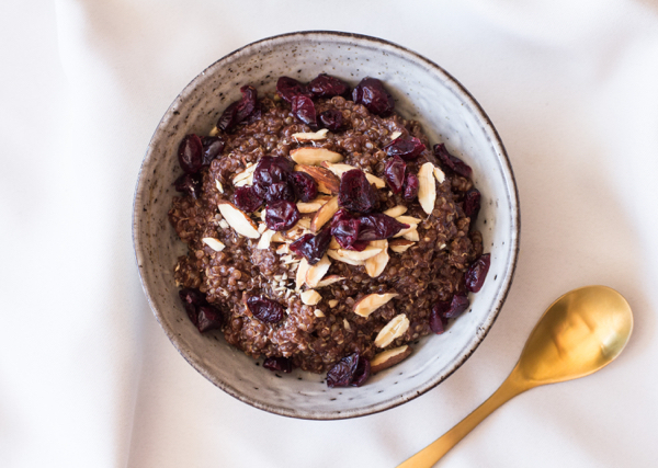 Simple Amaranth and Quinoa Porridge | The Full Helping