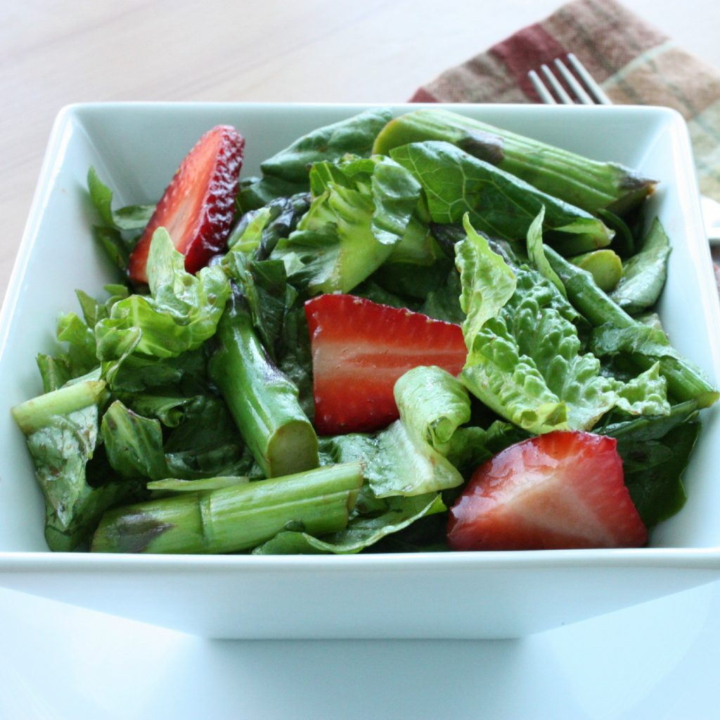 ... and Strawberry Salad with Balsamic and Basil | The Full Helping