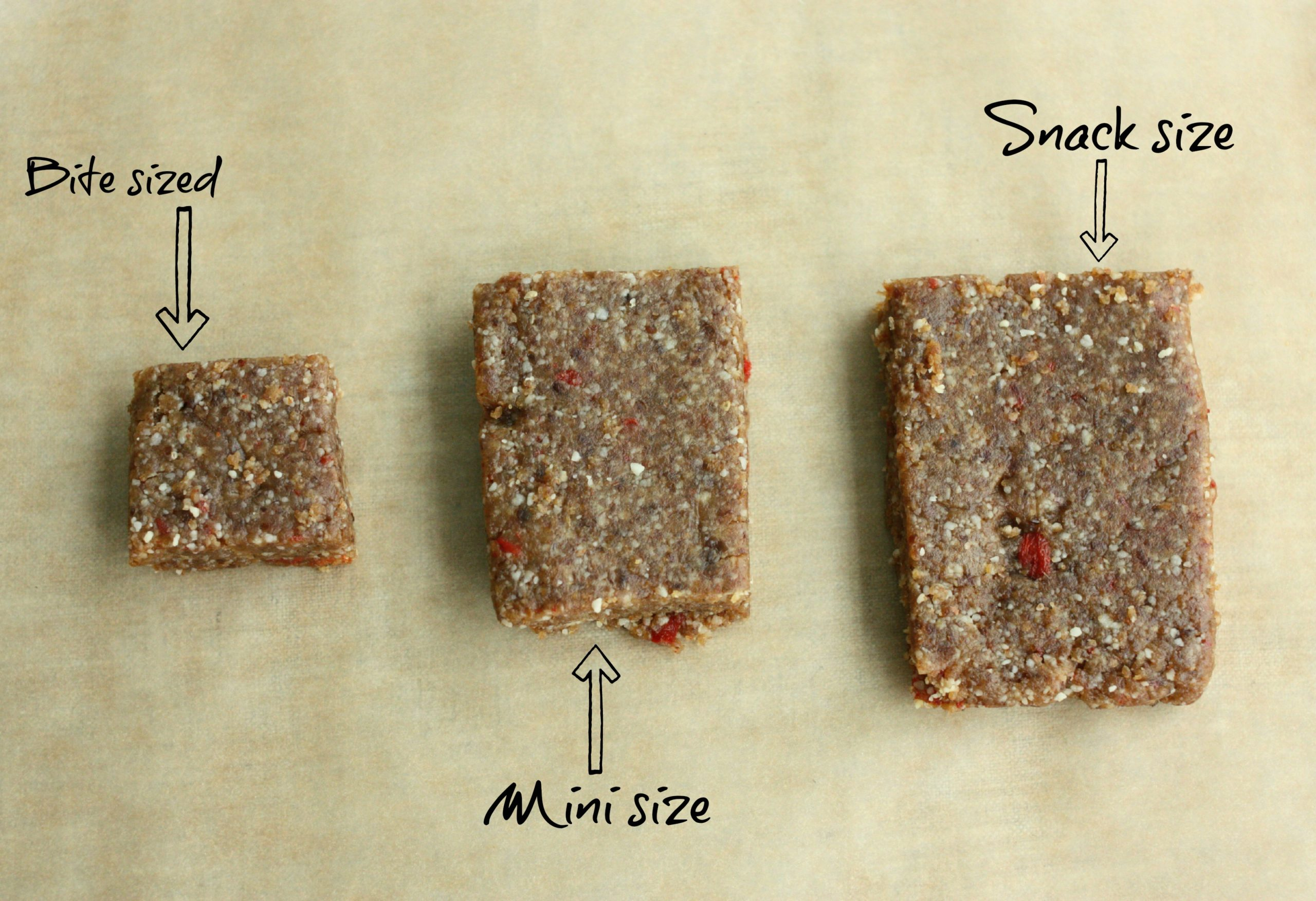 Higher Protein Raw, Vegan Snack Bars. Easy to Customize! | The Full ...
