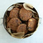 Raw, Vegan Carrot Raisin Walnut Cookies