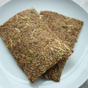 Raw Apple Flax Flatbread
