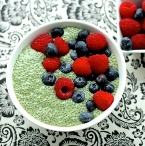 Matcha Green Tea Chia Pudding
