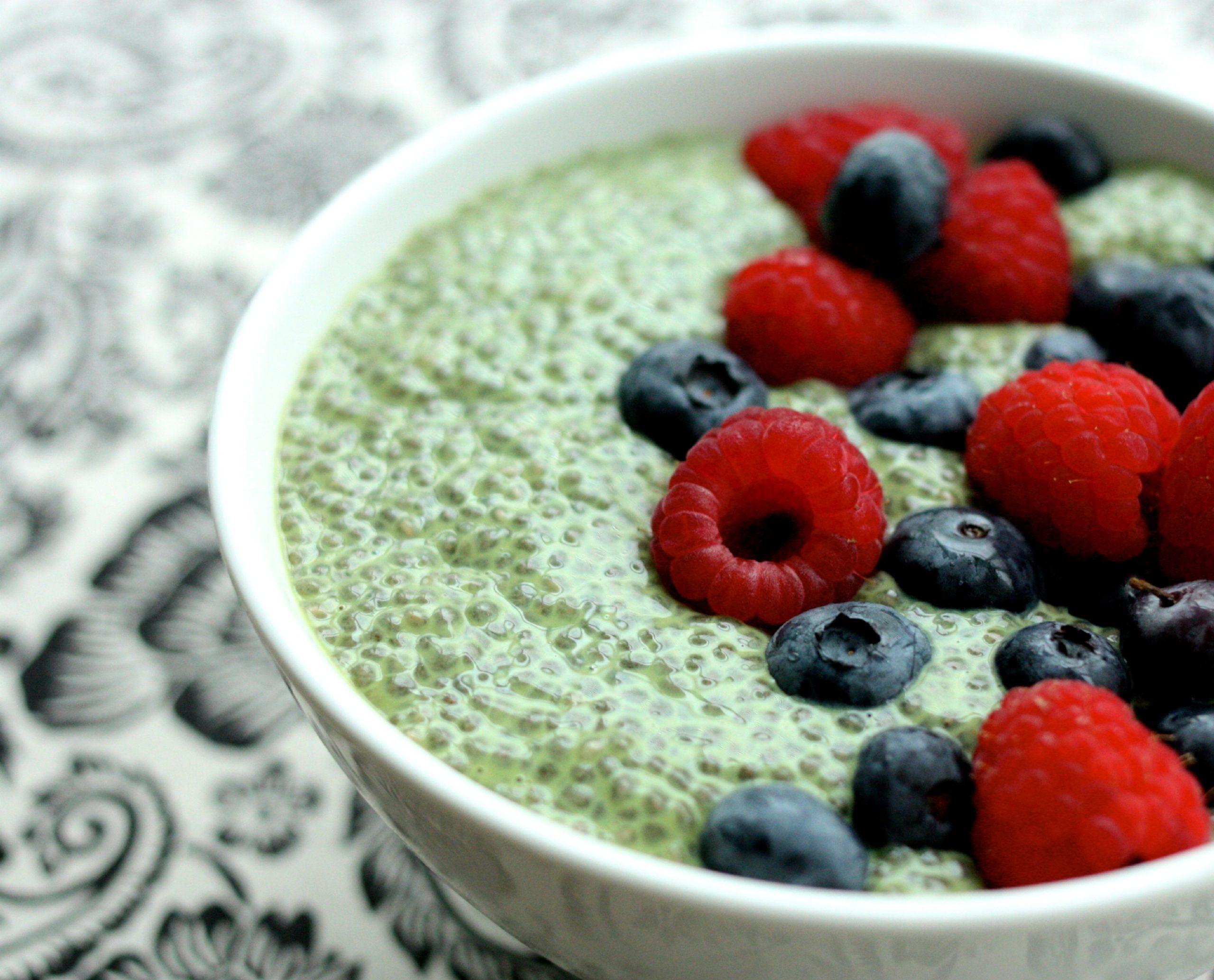 Watch How to Make Matcha Green Tea Chia Pudding video