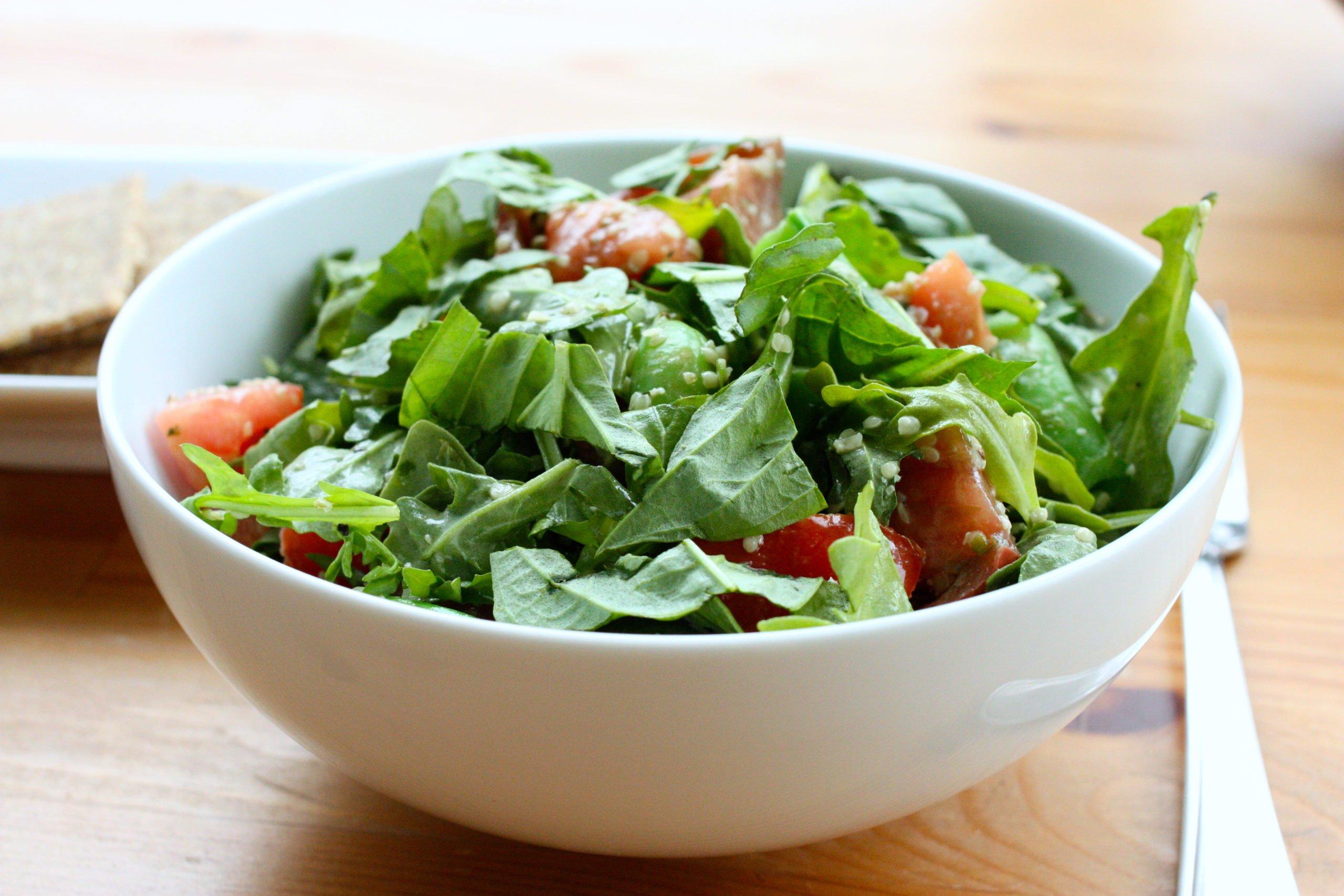 Give Peas a Chance: Sugar Snap Pea, Arugula, and Heirloom Tomato Salad ...