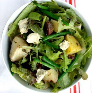 Vegan Tuna-Less Nicoise