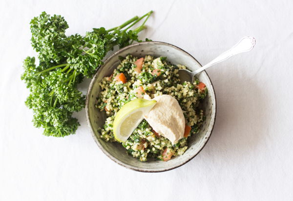 Millet tabbouleh | The Full Helping