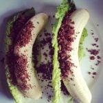 Quick and Easy Banana & Granola Wraps