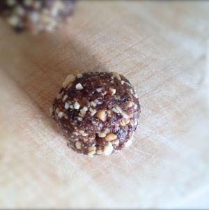Quick, Easy, PB & J Snack Balls. Plus, Is It Safe to Eat Peanuts?