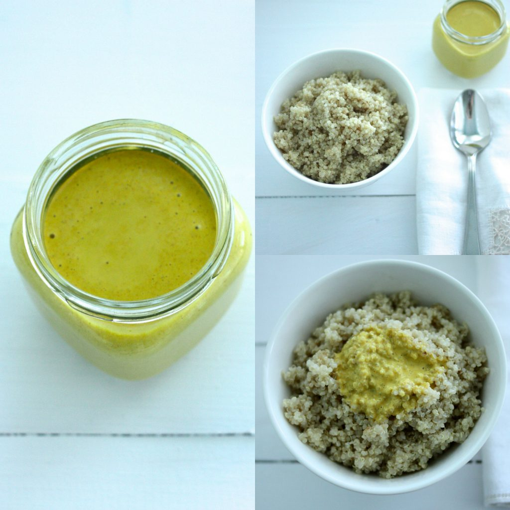 Anti-Inflammatory Turmeric Tahini Dressing | The Full Helping
