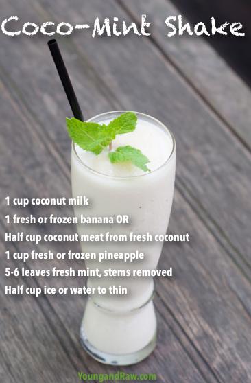 Coco-Mint-Shake