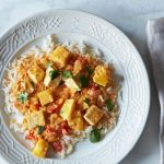 Kabocha Squash and Tofu Curry. Plus, Natural Vitality Winner!