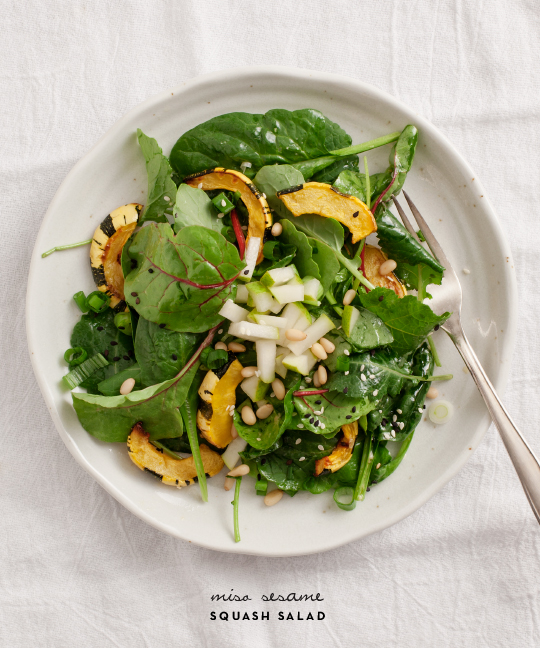 Miso Sesame Squash Salad from Love and Lemons