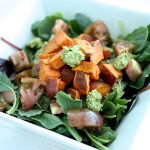 Sweet Potato Pesto Salad and DC VegFest Recap