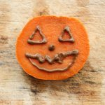 Sweet Potato Jack-O'-Lanterns With Chocomole Frosting. Plus, Melissa's Wedding Recap!