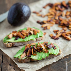 Easy Vegan Coconut Bacon