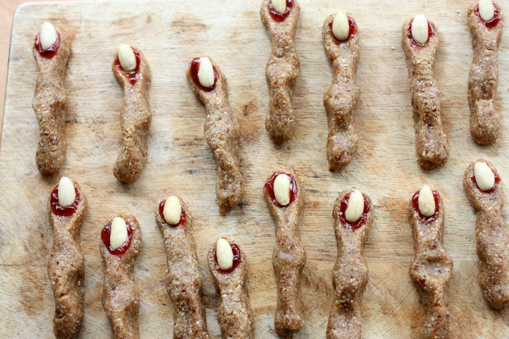 Raw witches fingers decorated 1
