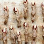 Raw, Vegan Witches' Finger Cookies For Halloween