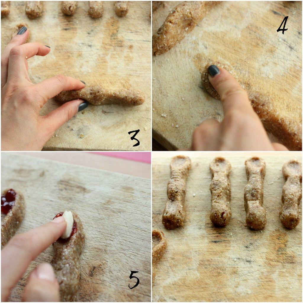 Witches fingers how to