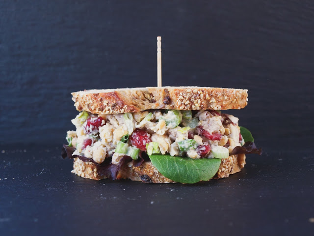 Cranberry Walnut Chickpea Salad Sandwich (15)