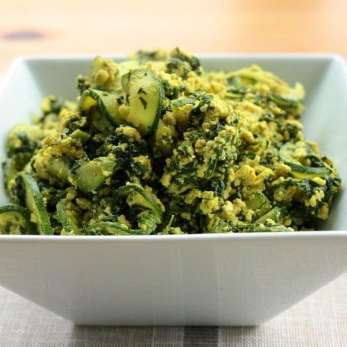 green tofu scramble 3