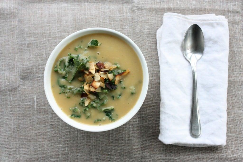 rutabaga parsnip kale soup 1