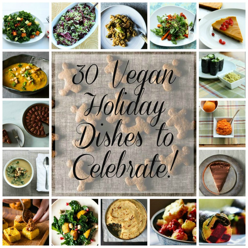 2013 Vegan Holiday Recipe Round Up: 30 Appetizers, Salads