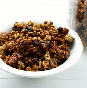 Edible Giving: Toasted Pumpkin and Cranberry Granola