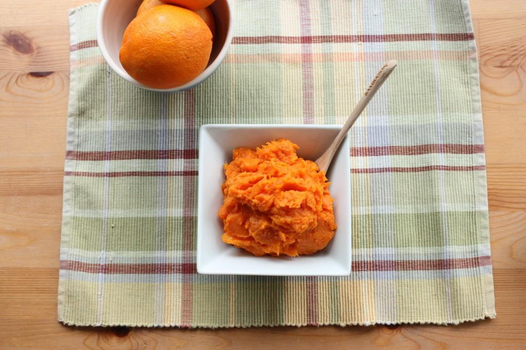 buttnut and sweet potato mash distance