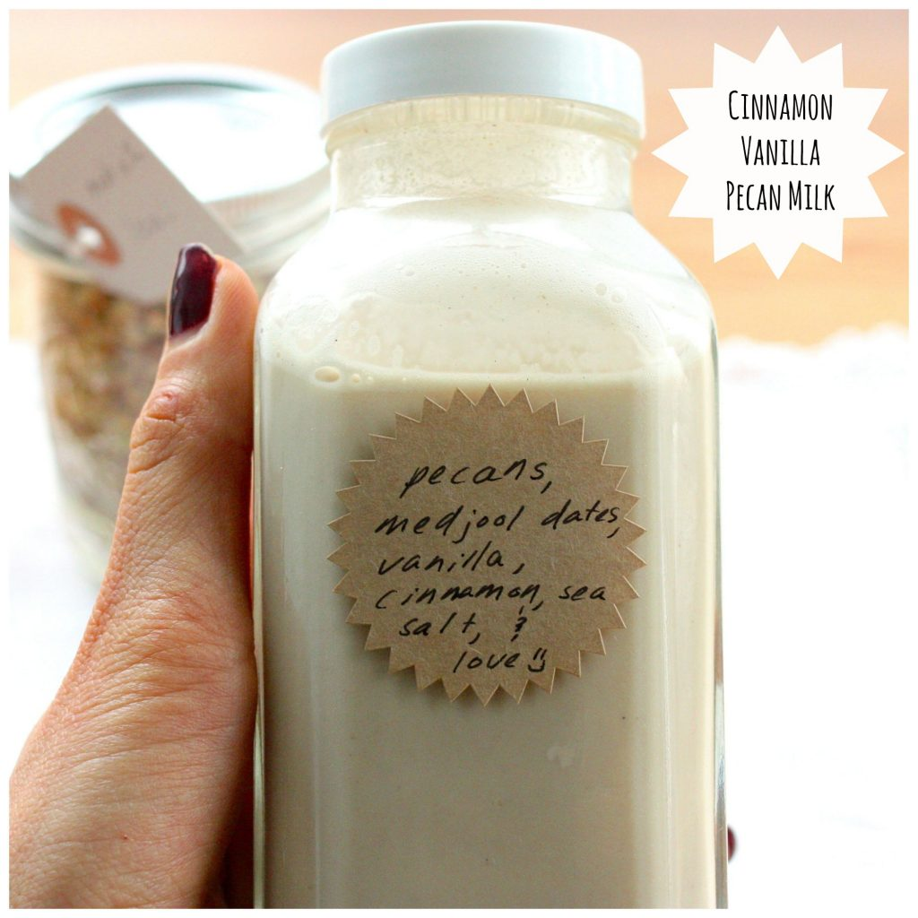 cinnamon vanilla pecan milk header