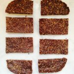 Raw Salted Almond Chocolate Snack Bars