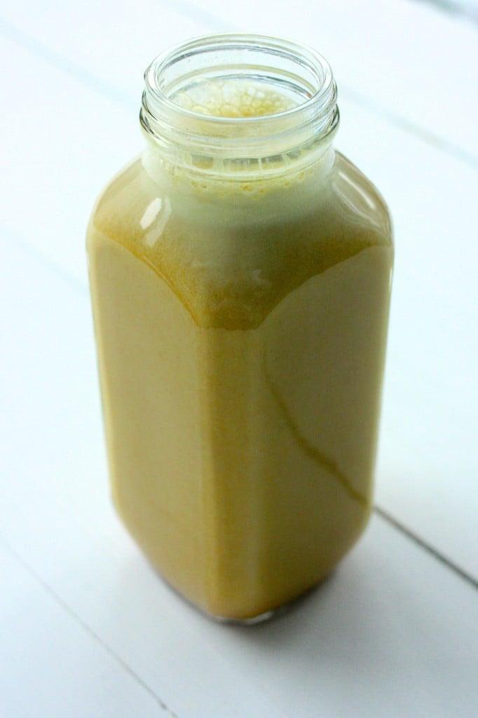 Turmeric milk vegan 3