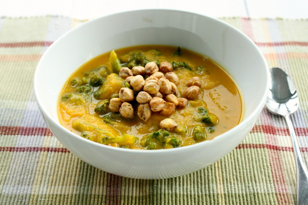 curried red lentil butternut squash side