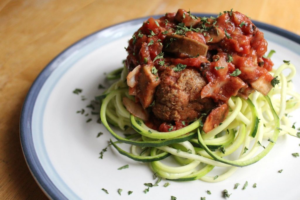 lentil-quinoa-meatball-bolognese-and-zucchini-noodles-7