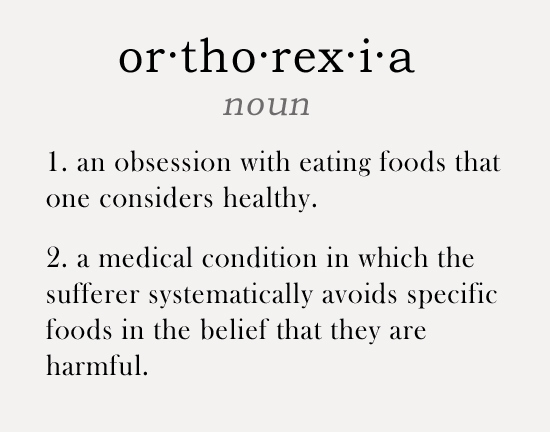 Image result for orthorexia