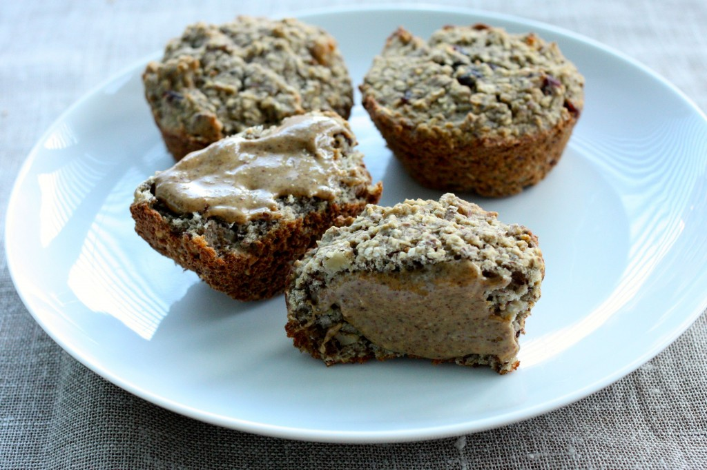 banana protein muffin vegan