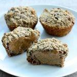 Banana Oat Muffins (gluten free, higher protein option)