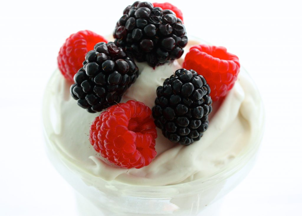 homamde coconut milk yogurt close up 2
