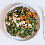 Spicy Peanut Kale Salad