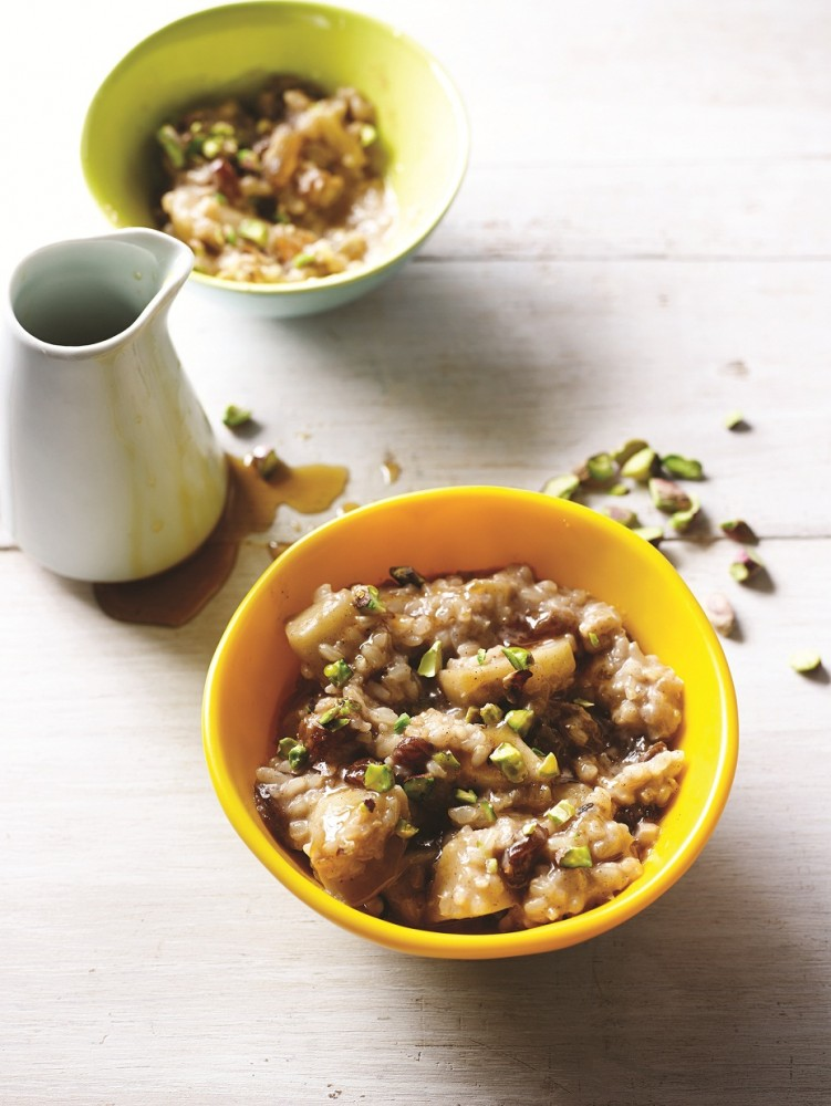 chai rice pudding