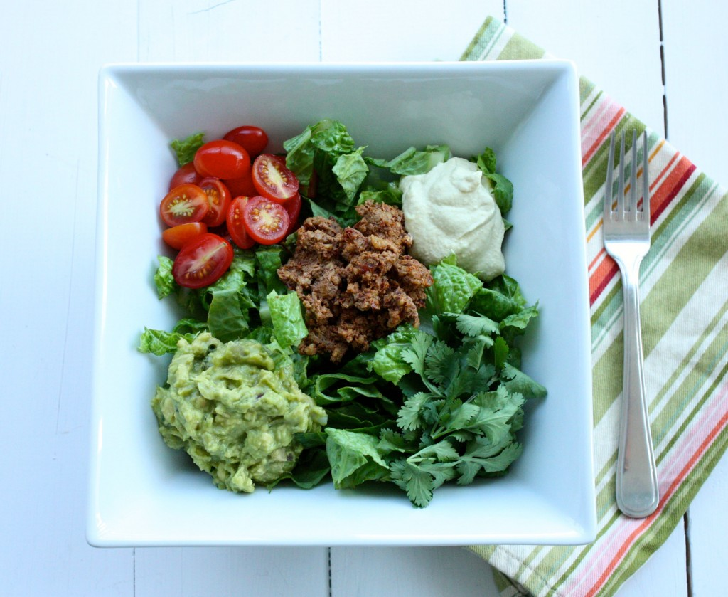 Raw Vegan Taco Salad The Full Helping