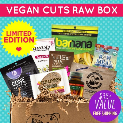 vegan cuts raw box