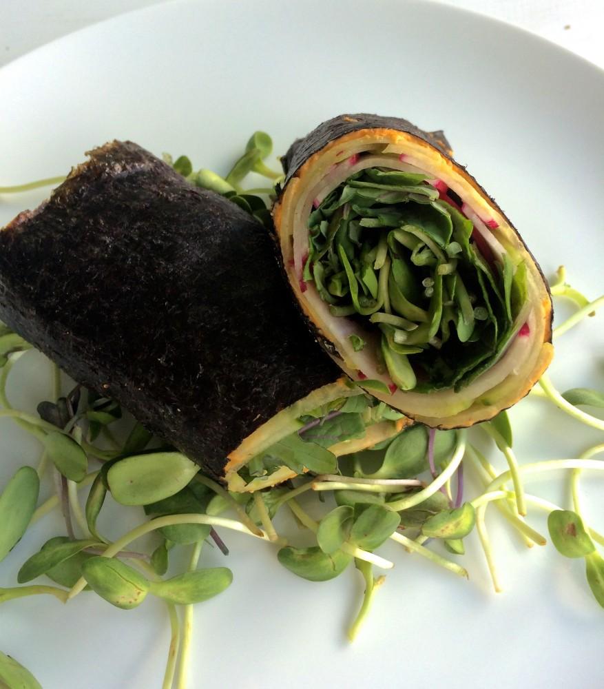 hummus nori wrap