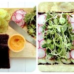 Easy Hummus and Nori Vegetable Wraps