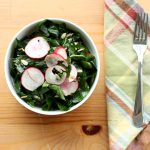 raw collard green salad