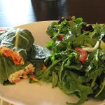 "Collard Wraps with Italian ""Pizza Cheese"""