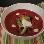 raw borsct soup