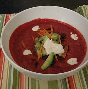 Raw Borscht for Easter Sunday