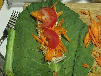 veggies-in-collard