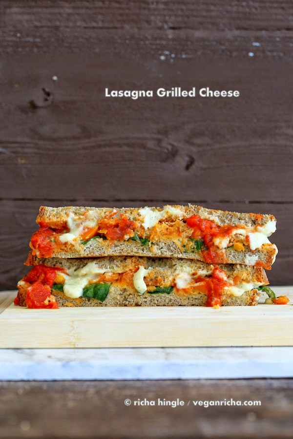 Cauliflower alfredo Artichoke Lasagna 1317