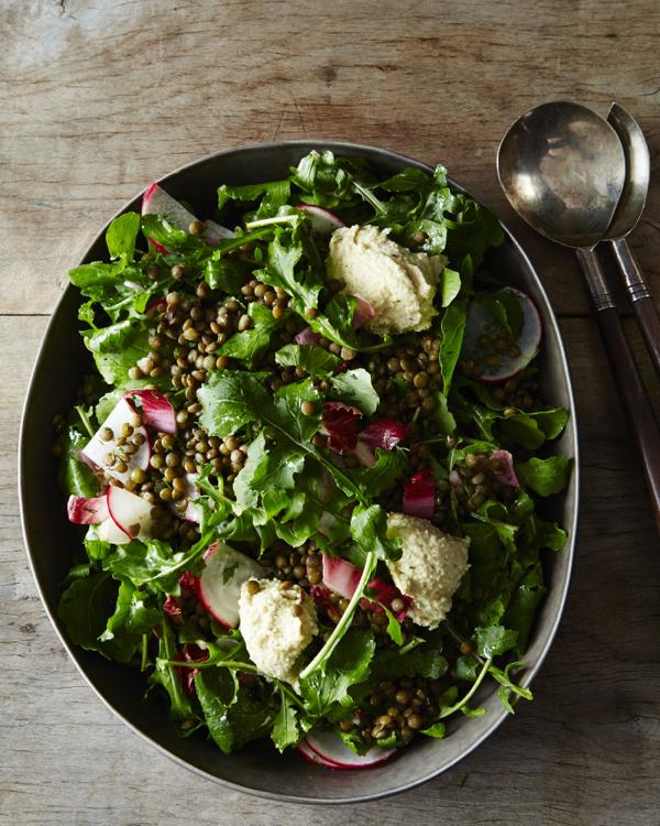 Food52 Vegan_Fresh Lentil and Arugula Salad